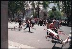 Barricadas en la ciudad