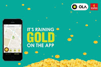 OlaCabs : Get a Gold Coin this Dhanteras for Rs. 11 : Buytoearn