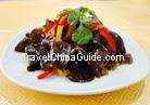 Black Fungus with Mashed Garlic