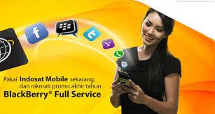 Daftar Harga Paket Internet  Blackberry Indosat Premium dan Full Biss