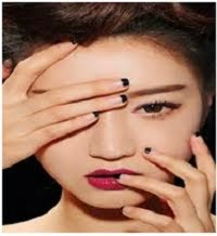 lipstik yang tepat untuk bibir warna hitam