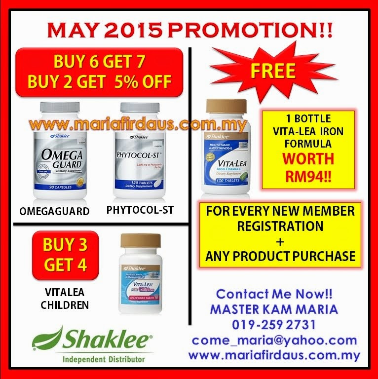 Promotion May 2015!!