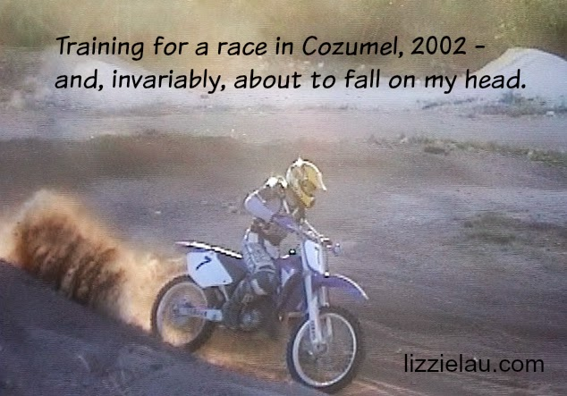 Lizzie Lau Cozumel Motocross Track