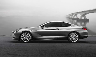side view of BMW 6 Series Coupe