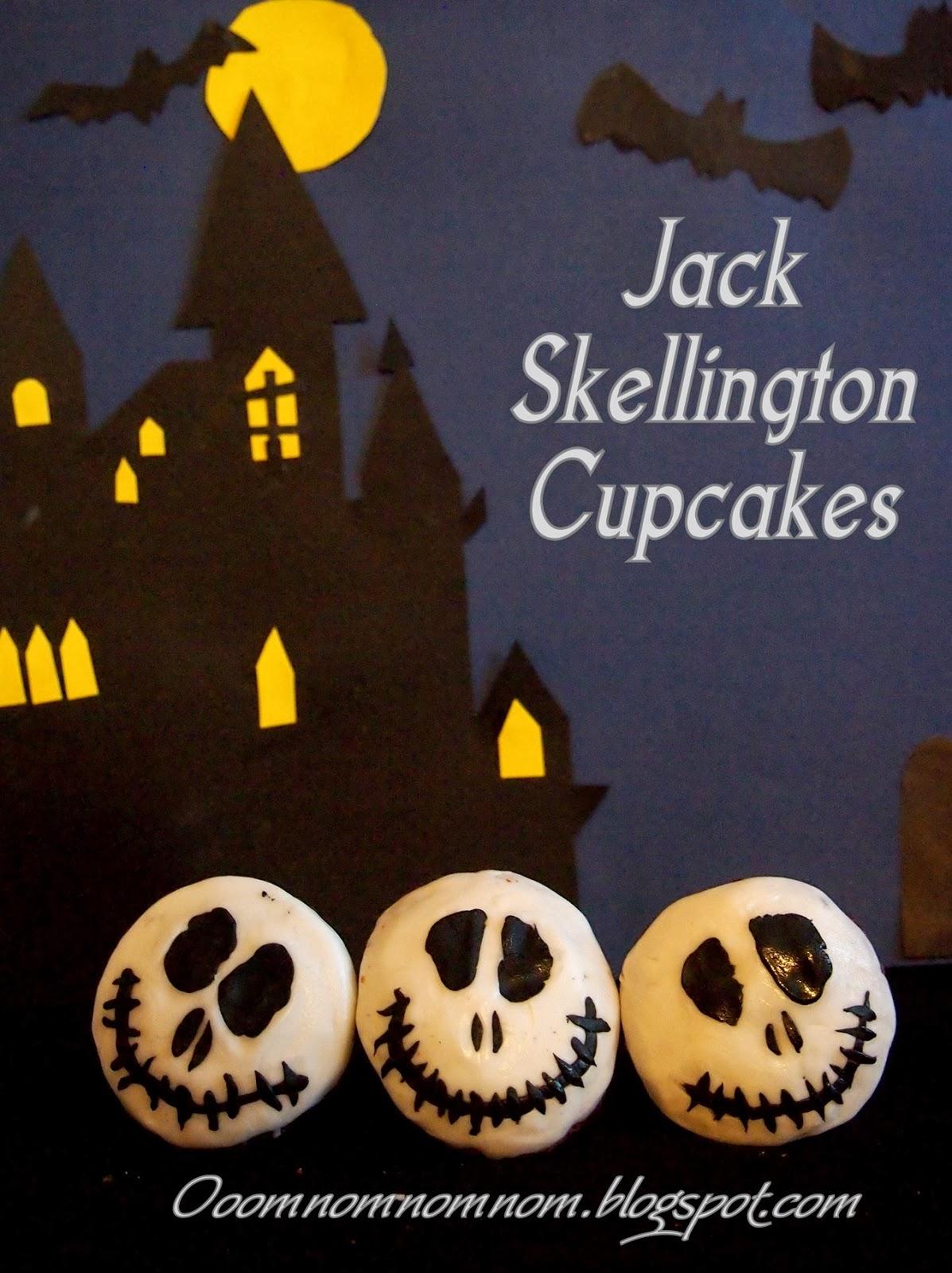 Jack Skellington Cupcakes