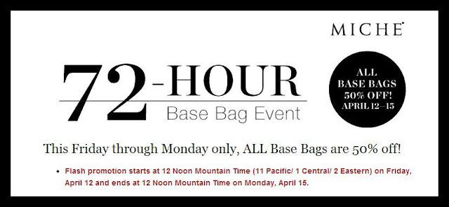 Shop our Miche 50% OFF Base Bag Sale