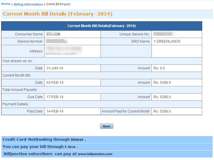Apcpdcl online bill payment