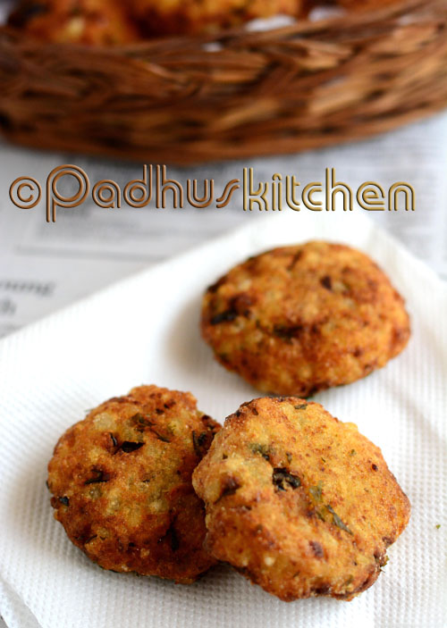 Sabudana Vada-Navratri Vrat recipes