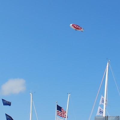 Newport Boat Show blimp