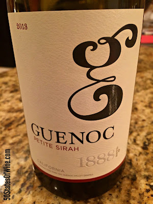 Wine of the Week: Guenoc Wines Petite Sirah 2013