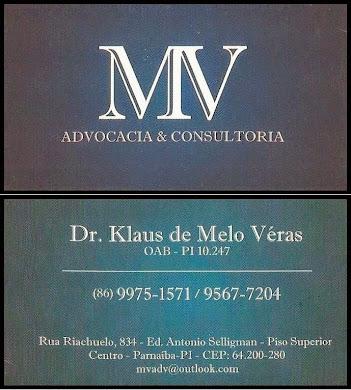 Dr. Klaus de Melo Véras.