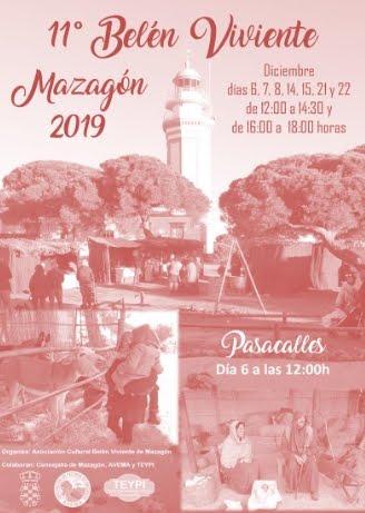 11º BELÉN VIVIENTE MAZAGÓN 2019