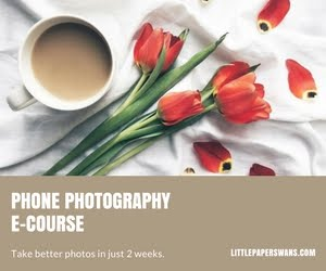 PHONE PHOTOGRAPHY E-COURSE