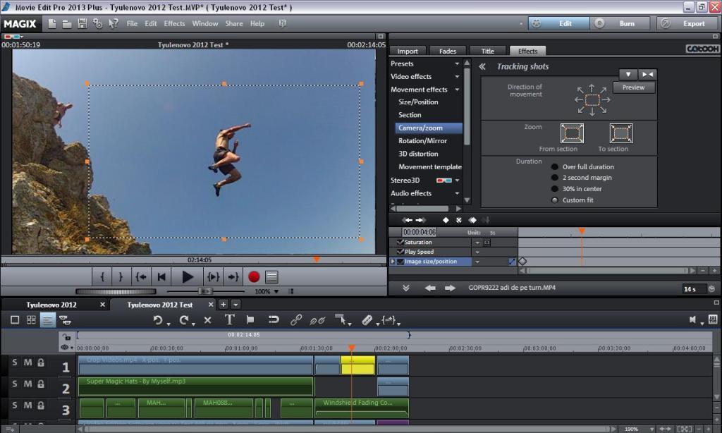 Эффекты Для Magix Movie Edit Pro