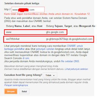 Cara Mengganti Domain Blog Menjadi Domain TLD