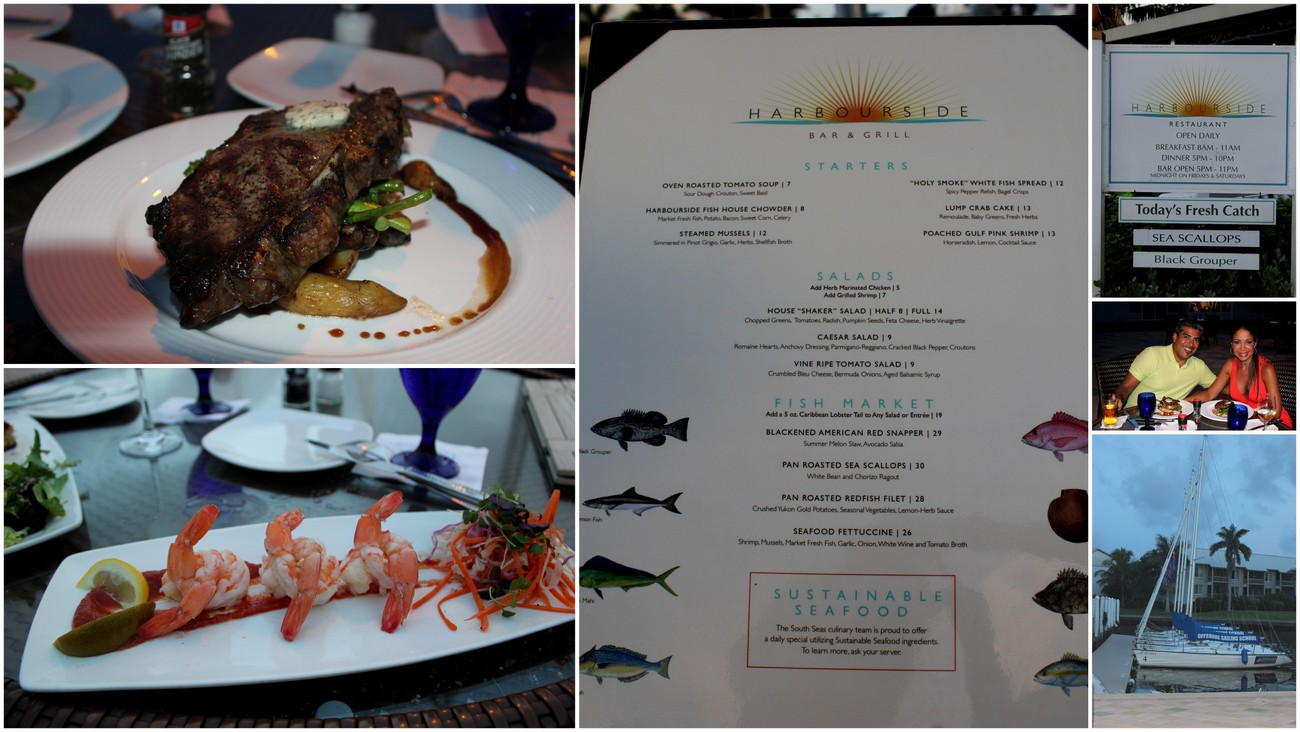 The Harbourside Restaurant at South Seas Island Resort at Captiva Island.