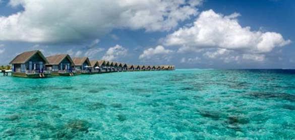 الرفاهية و الاستجمام بطريقة مبتكرة في احدى فنادق جزر المالديفز