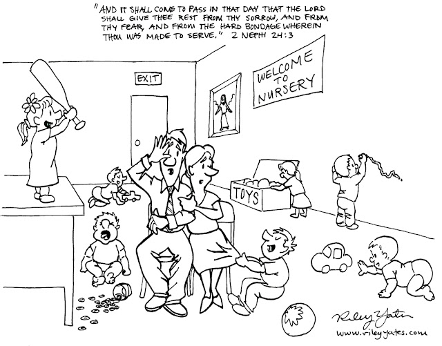 Mormon cartoon, Nursery cartoon, LDS cartoon