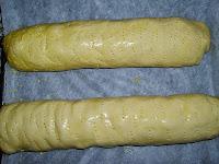 Pan de Jamón-pan pintado
