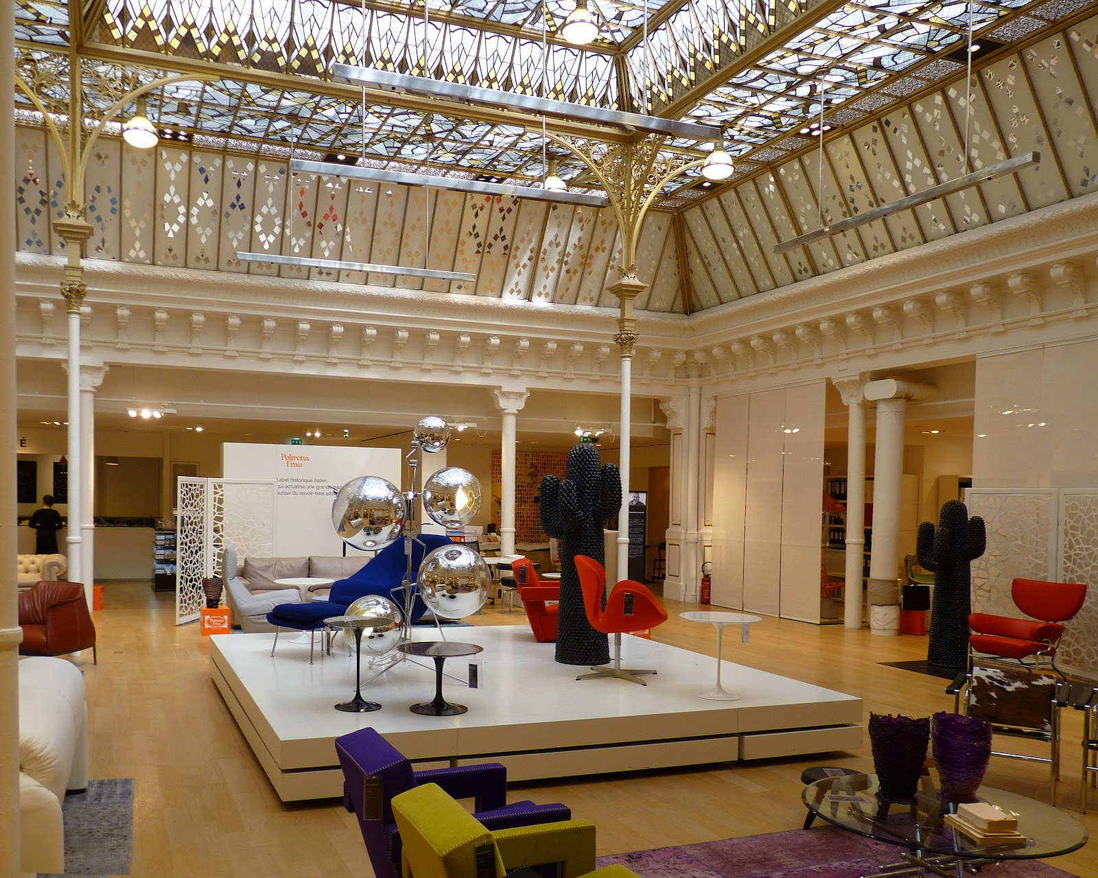 Jewel Yet To Find The Skylights Of Le Bon Marche
