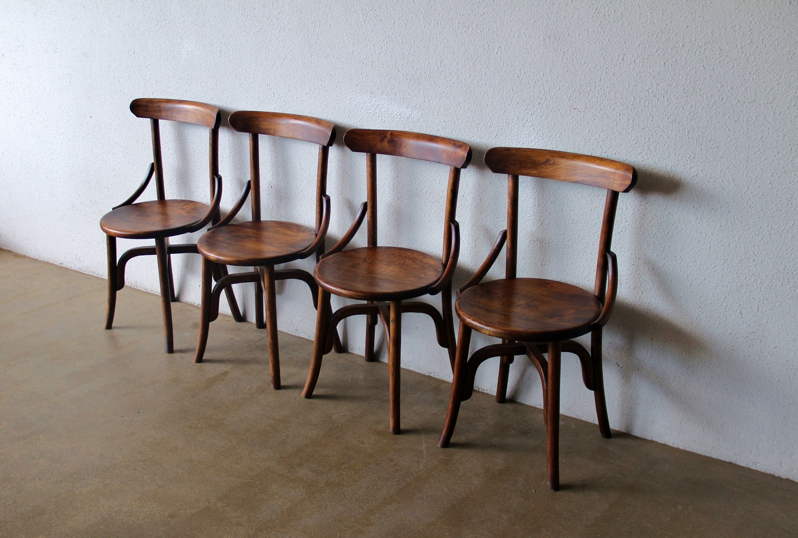 Antique wooden spindle chairs - Another Variation Of The Spindle Back Chairs 350 Each