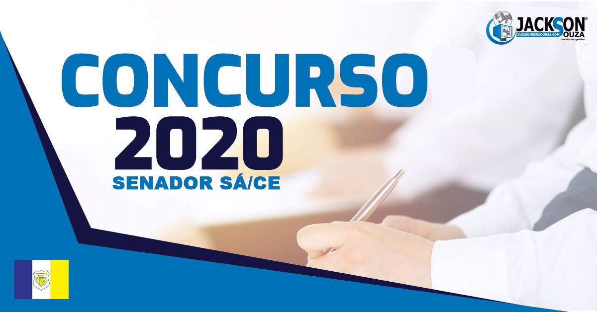 Concurso de Senador Sá 2020