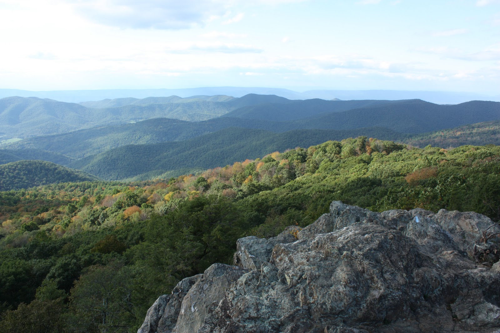Hiking Shenandoah: Bearfence Mountain