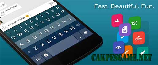 Fleksy + GIF Keyboard Full Apk v7.8.0 All Versions