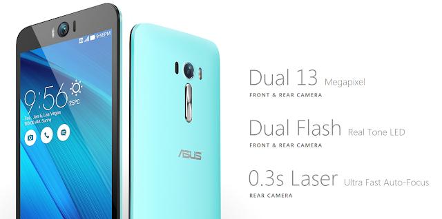 Zenfone Selfie Camera Specs