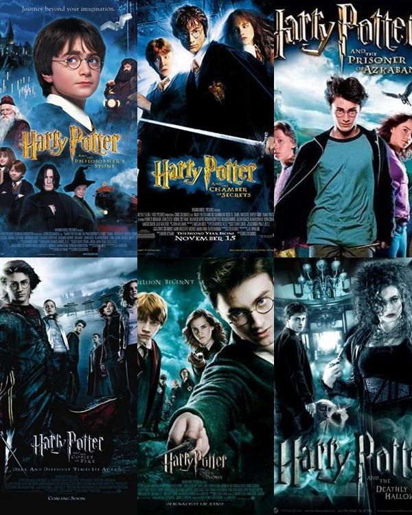 Vamos Baixar Filmes: Harry Potter Todos Os Filmes da Saga - Dublado