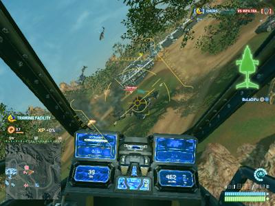 PlanetSide 2 - Piloting an Aircraft