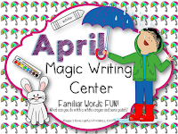 April Magic Writing Activities