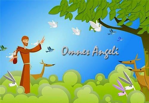 Omnes Angeli Recado De São Francisco De Assis Para Quem Perdeu