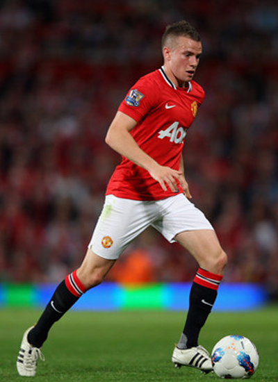 Tom Cleverley midfielder Manchester United