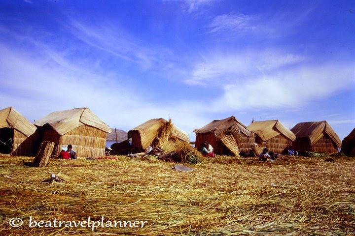 Uros -lago Titicaca