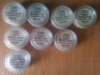 Mój makijaż mineralny cz. I: podkład i korektor