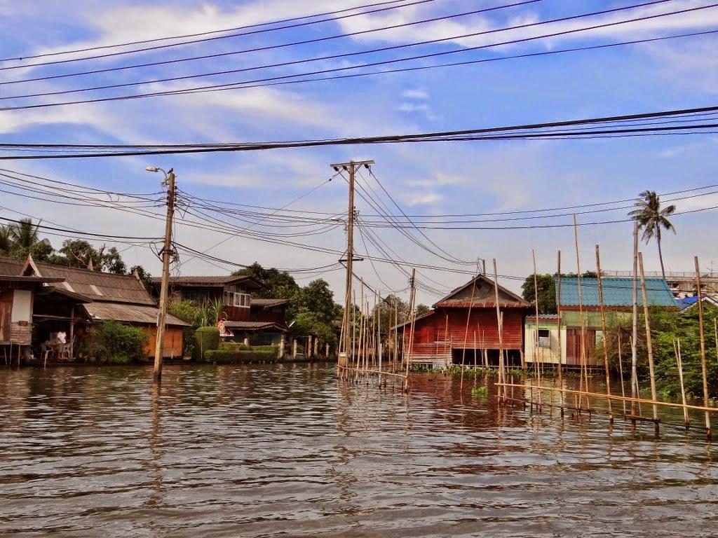Rejs po kanałach Bangkoku