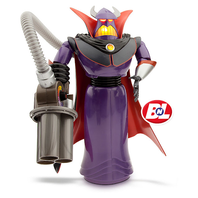 WELCOME ON BUY N LARGE Toy Story 2 Emperor Zurg Talking Action Figure - 15u0026quot;