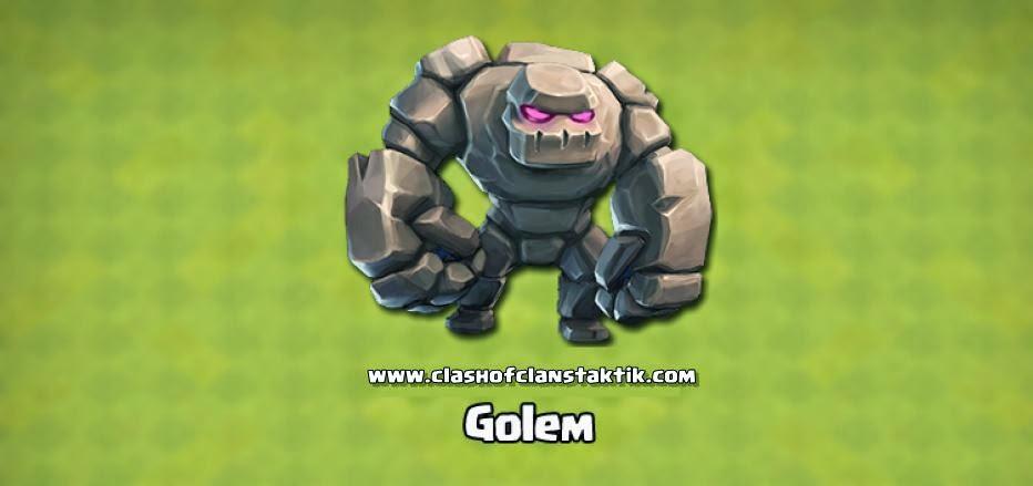 Clash of clans golem