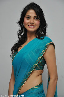 Supriya Shailja Spicy Pictureshoot in Transparent Saree Lovely Pictures
