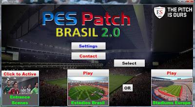 PES Patch Brasil