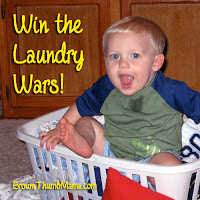 Win the Laundry Wars! BrownThumbMama.com