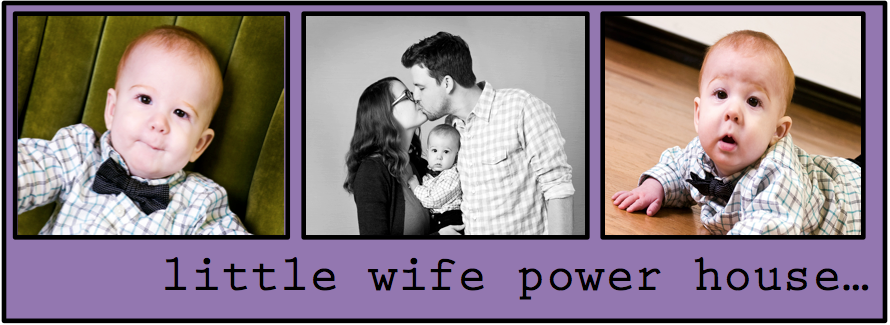 little wife power house...