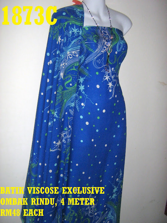 BV 1873C: BATIK VISCOSE EXCLUSIVE OMBAK RINDU, 4 METER