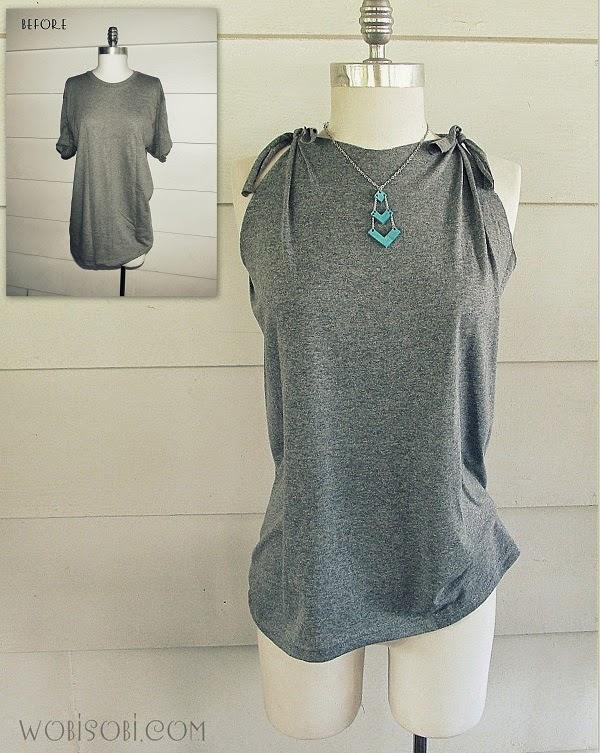 DIY: Transformar una camiseta para el verano