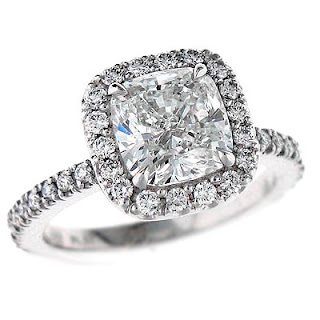 Purchase a cushion cut engagement rings