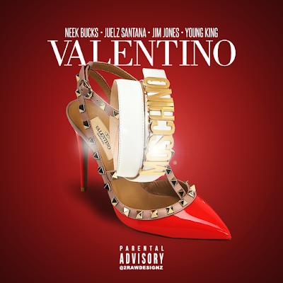 """Neek Bucks x Juelz Santana x Jim Jones x Young King - """"Valentino"""" / www.hiphopondeck.com"""