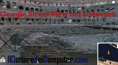 google street view colosseo