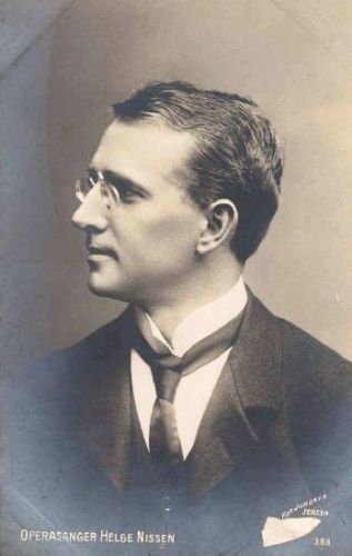 DANISH BASS-BARITONE HELGE NISSEN (1871-1926) CD