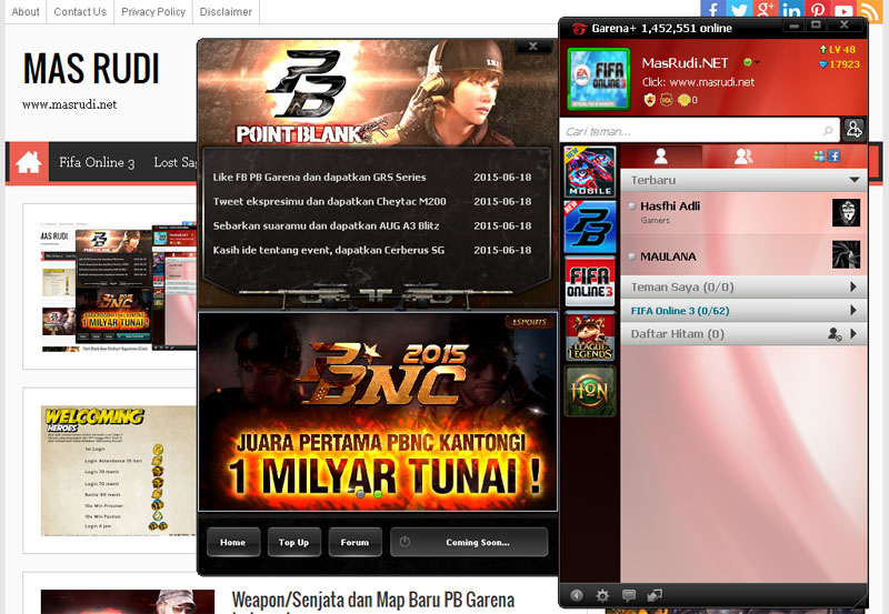 Download Point Blank Patch Manual (PB Indonesia